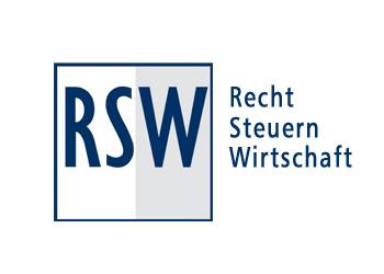 Logo Firma RSW RECHTSANWÄLTE Tobelander, Dr. Dolinski, Partnerschaft mbB in Biberach an der Riß