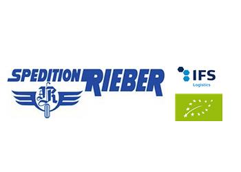 Logo Firma Josef Rieber GmbH u. Co. KG Spedition - Lagerung - Kühltransporte  in Dürmentingen