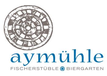 Logo Firma Aymühle Fischerstüble mit Biergarten in Stafflangen