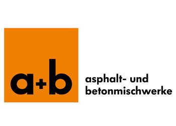 Logo Firma a+b Asphalt- und Betonmischwerke GmbH & Co. KG in Ingoldingen