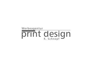 Logo Firma Werbeagentur Print Design Schnepf GmbH & Co. KG in Biberach an der Riß