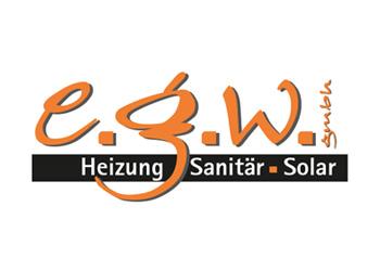 Logo Firma e.g.w. GmbH Heizung - Sanitär - Solar in Biberach an der Riß