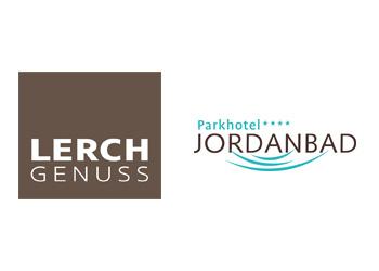 Logo Firma Lerch GmbH · Parkhotel Jordanbad, Restaurant Feuerstein, Gastronomie Lagune in Biberach an der Riß
